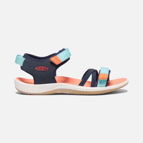 Keen Verano Big Kids' Sandal | Black Iris/Blue Tint