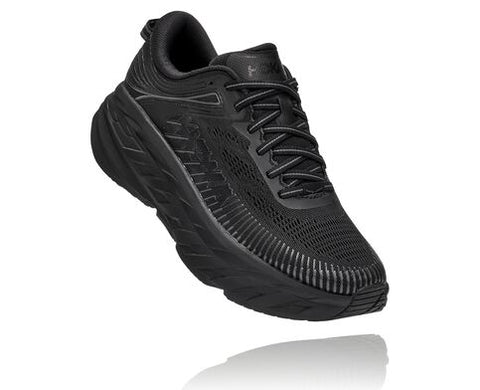 Hoka Bondi 7 Wide | Black/Black