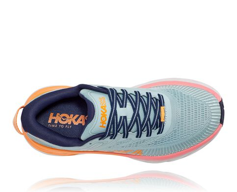 Hoka Bondi 7 Wide | Blue Haze