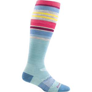 Darn Tough Glacier Stripe Over-the-Calf Sock