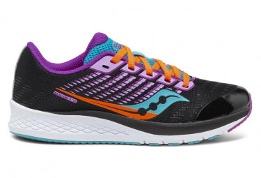 Saucony Youth Ride 13 | Black/Pink