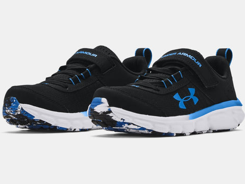 UA Kids' Assert | Black/Blue