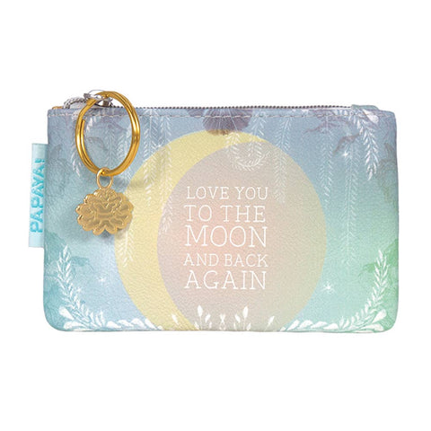 PAPAYA - Coin Purse- Moon and Back