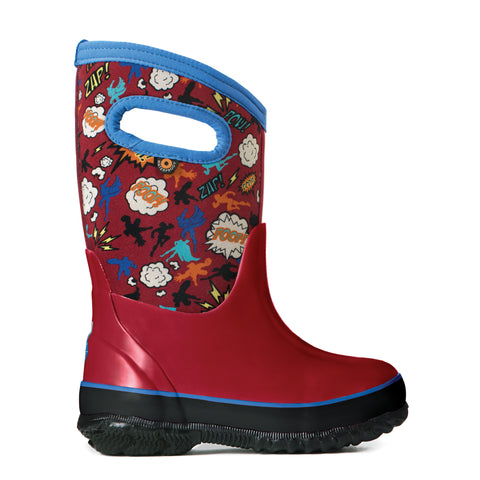 Bogs Classic Superhero | Red Multi