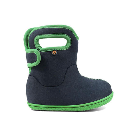 Bogs Baby Boots in Navy/Green