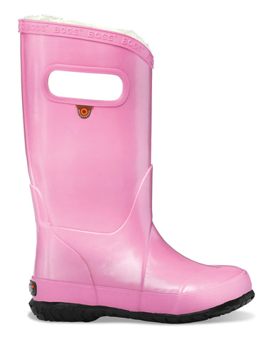 Bogs Metallic Plush Rainboot | Pink