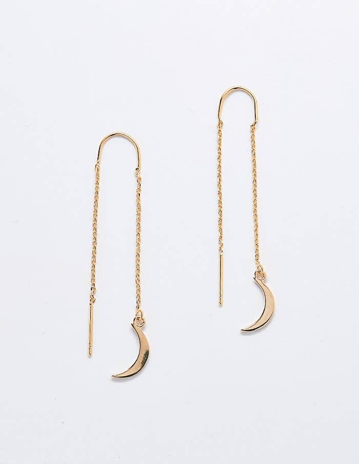 Admiral Row - Moon Threader Earrings