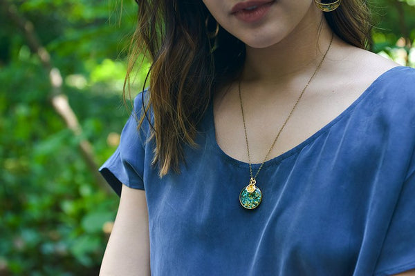 Cameoko The Sweetest Duo Necklace