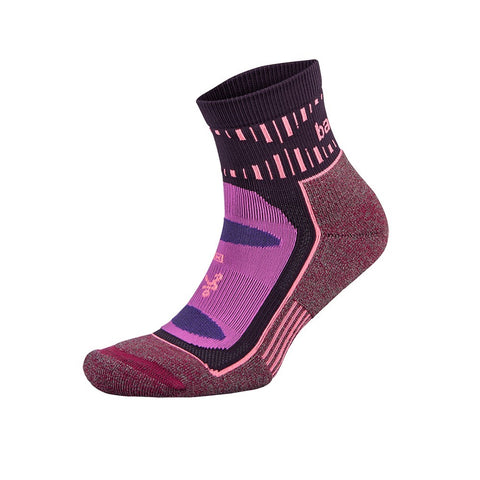 Balega Blister Resist Quarter | Pink/Wildberry