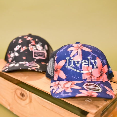 Lively Tech Trucker (hibiscus)