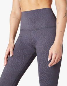 Beyond Yoga Feline Jacquard Midi | Shadow Gray