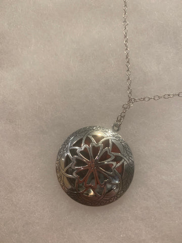 Marigold Mary Filigree Locket