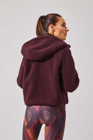 MPG Bombshell Berber Fleece Jacket