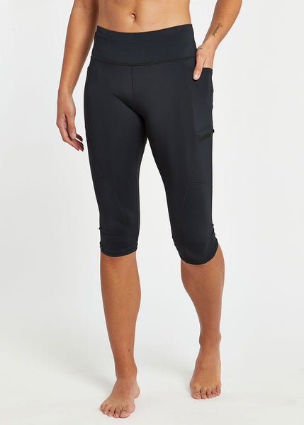 Oiselle Pockito Knickers | Black