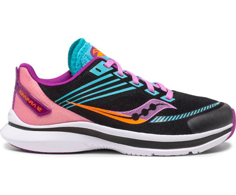 Saucony Youth Kinvara 12 | Black/Pink