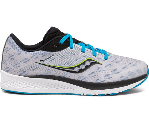 Saucony Youth Guide 14 | Grey/Blue/Black