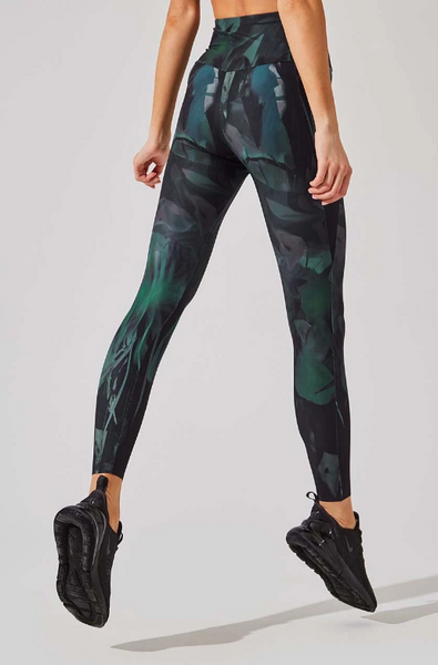 MPG Printed High-Waisted 7/8 Legging