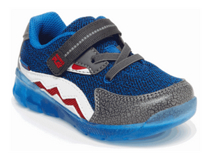 Stride Rite Little Kids Made2Play Light-Up Shark Sneaker
