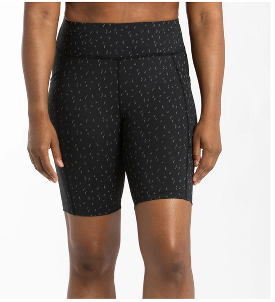 Oiselle Long Firecracker Reflective Shorts