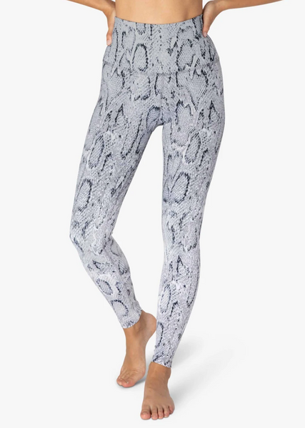 Olympus Ombre Snake High Waisted Midi Legging