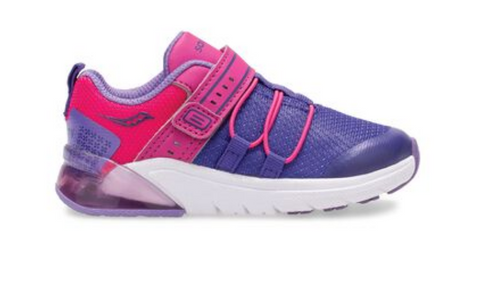 Saucony Flash Glow Jr | Purple/Pink