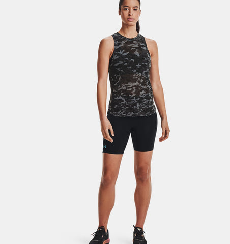 UA Breeze Run Tank | Black/Reflective