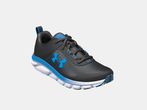 UA Youth Assert | Black/Blue
