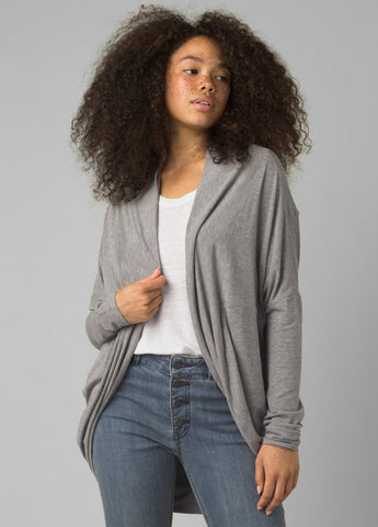Prana Munra Wrap | Heather Grey