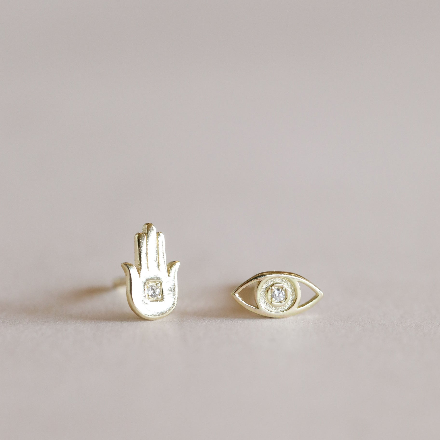 JaxKelly Hamsa Earrings