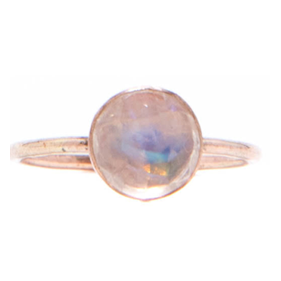 Mineral and Matter - Moonstone Large Ring (Sterling Silver)