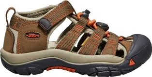 Keen Big Kids' Newport Sandal in Dark Earth