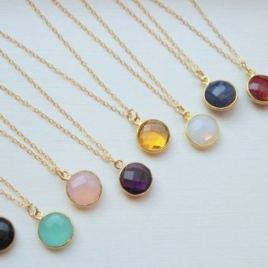 Laalee Aqua Gemstone Necklace