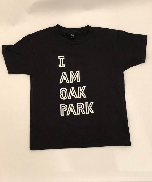 ShabbyFly I Am Oak Park Kids' Tee