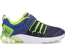 Saucony Flash Glow Jr | Navy/Green