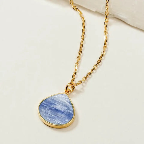 Luna Norte Kyanite Rain Necklace