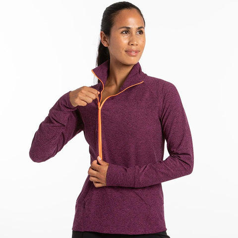 Oiselle Lux Forward Half Zip