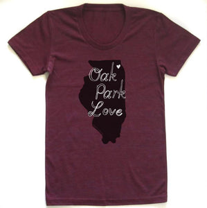 Megan Lee Oak Park Love T-shirt