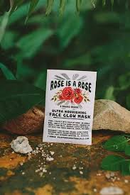 Wild Yonder Botanicals Rose Face Mask