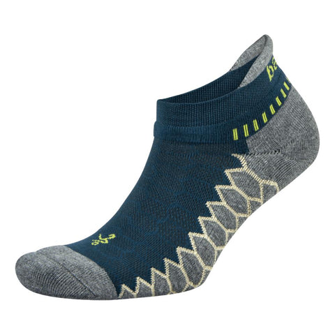 Silver No Show Running Socks