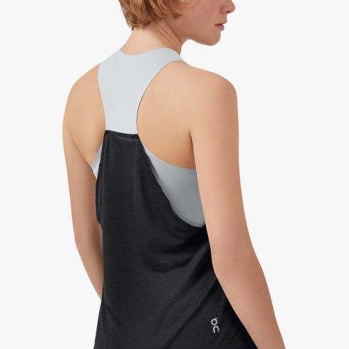 On Tank-T | Glacier/Black