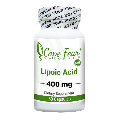 Lipoic Acid - Cape Fear Naturals, LLC