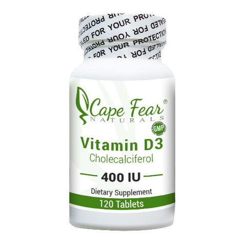 Vitamin D3 - Cape Fear Naturals, LLC