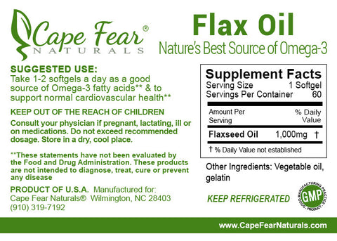 Supplement Package: For Everyone Under the Age of 40 - Cape Fear Naturals, LLC