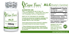 Acetyl-L-Carnitine (ALC) - Cape Fear Naturals, LLC