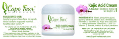 Kojic Acid Cream - Cape Fear Naturals, LLC