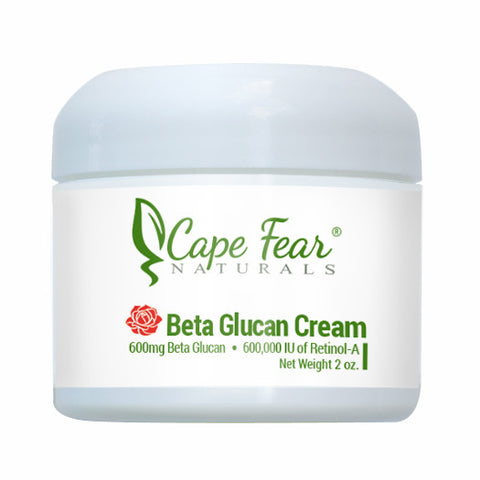 Beta Glucan Cream - Cape Fear Naturals, LLC