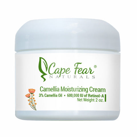 Camellia Moisturizing Cream - Cape Fear Naturals, LLC