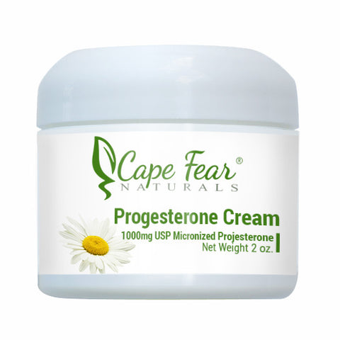 Progesterone Cream - Cape Fear Naturals, LLC