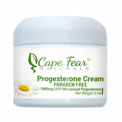 Progesterone Cream PARABEN FREE - Cape Fear Naturals, LLC