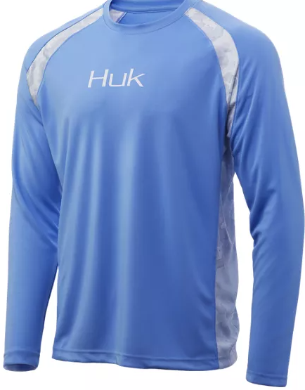 Huk Strike Solid LS (Carolina Blue)